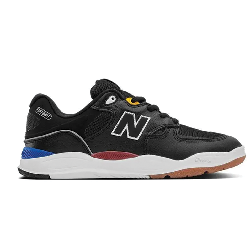 New Balance Numeric 1010 Tiago Black / White Leather