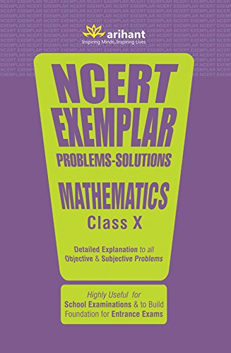 NCERT Exemplar Problems-Solutions MATHEMATICS class 10th