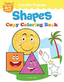Colouring Book of Shapes: Creative Crayons Series - Crayon Copy Colour Books
