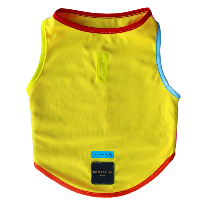 Duo Reversible cooling vest - Yellow & Pink