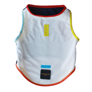 Duo Reversible cooling vest - Yellow & White