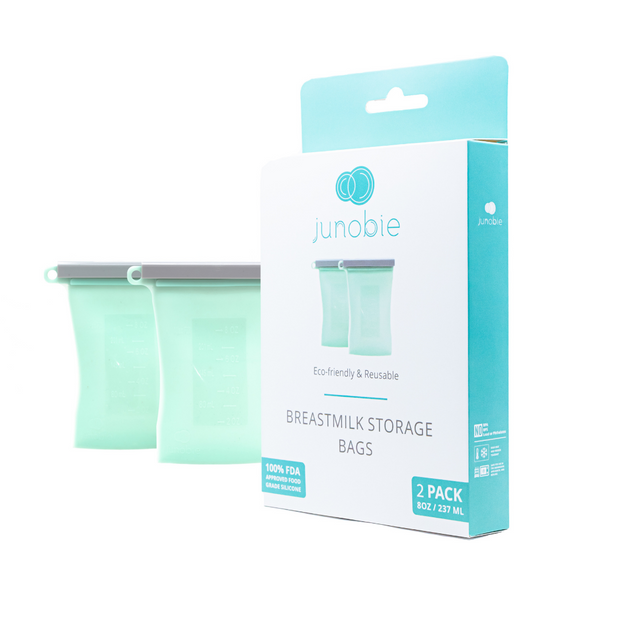 The Bundled 2-Pack Reusable Breastmilk Storage Bag-The Journey
