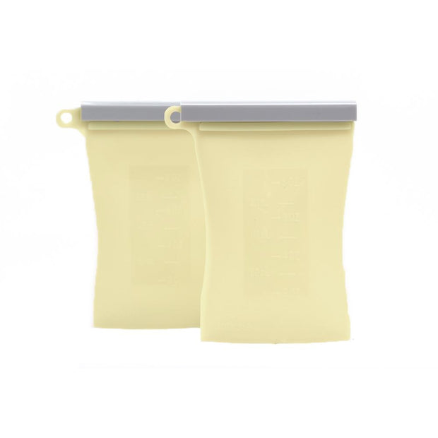 The Bundled 2-Pack Reusable Breastmilk Storage Bag-The Everly