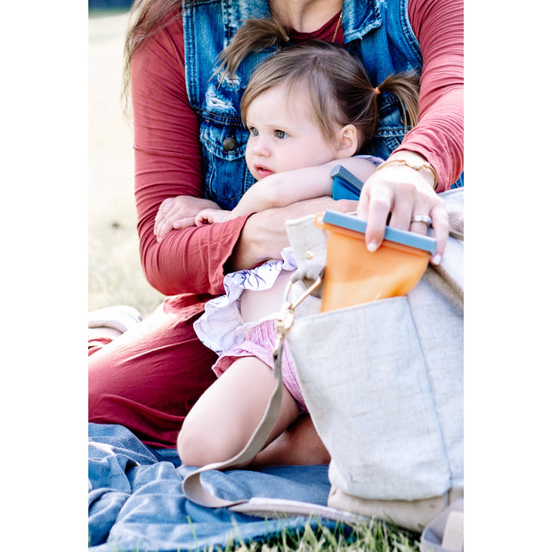The Bundled 4-pack Reusable Breastmilk Storage Bags-The Autumn