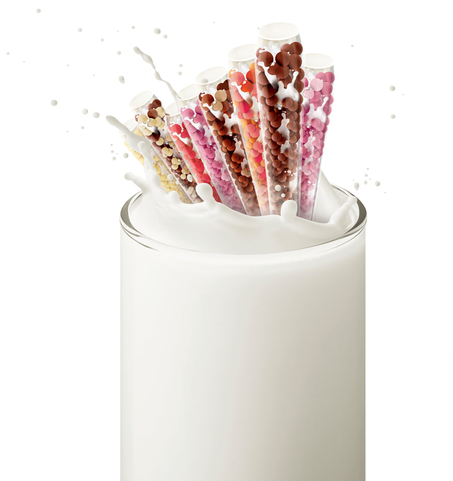 Smart Milk Flavoring Straw | 25 straws