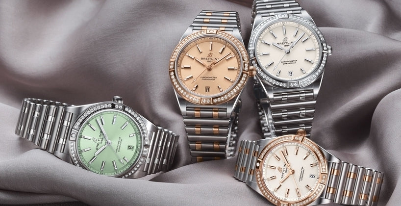 Breitling Chronomat Ladies 32 & 36 Collection Review