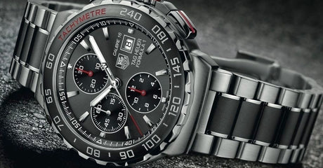 Experience The Adrenaline of the TAG Heuer Formula 1 Calibre 16 Watch