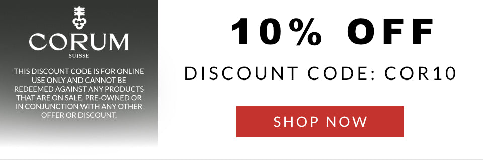 Corum Discount Code