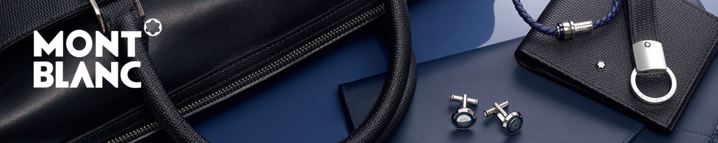 Montblanc Leather Goods banner