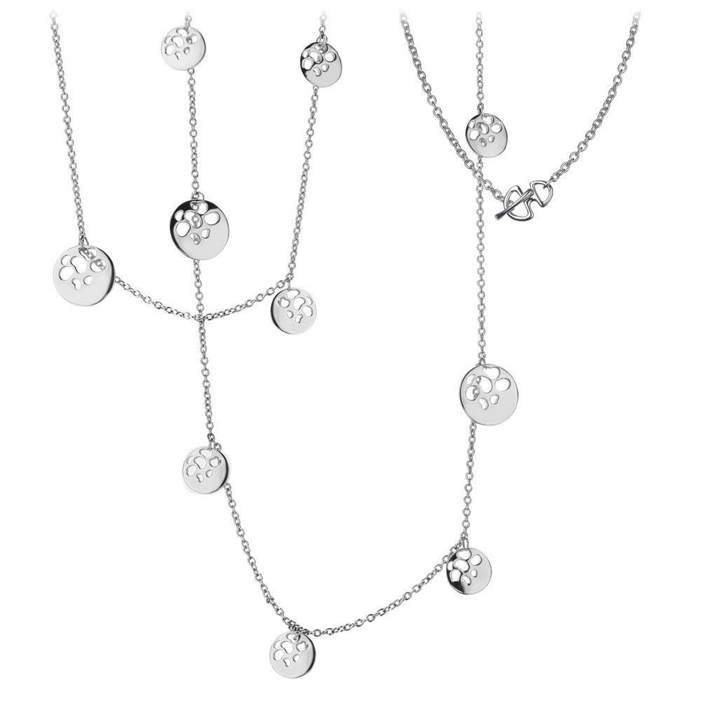Hot Diamonds Necklace Collection Selene Maxi Black Silver D
