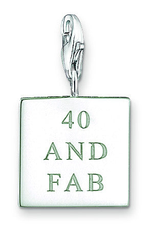 Thomas Sabo Charm   And Fab Silver