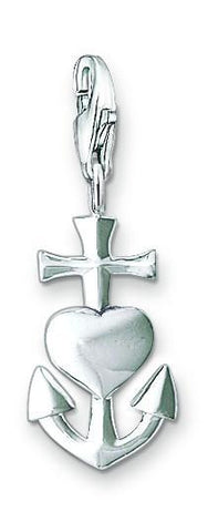 Thomas Sabo Charm  Faith, Love, Hope Silver