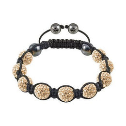 Tresor Paris Bracelet 10mm Gold Crystal 016317
