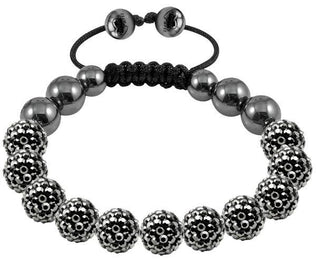 Tresor Paris Bracelet 10mm Grey Crystal 016481