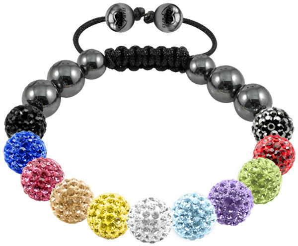 Tresor Paris Bracelet 10mm Mixed Crystal S