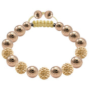 Tresor Paris Bracelet 10mm Gold Crystal 019198
