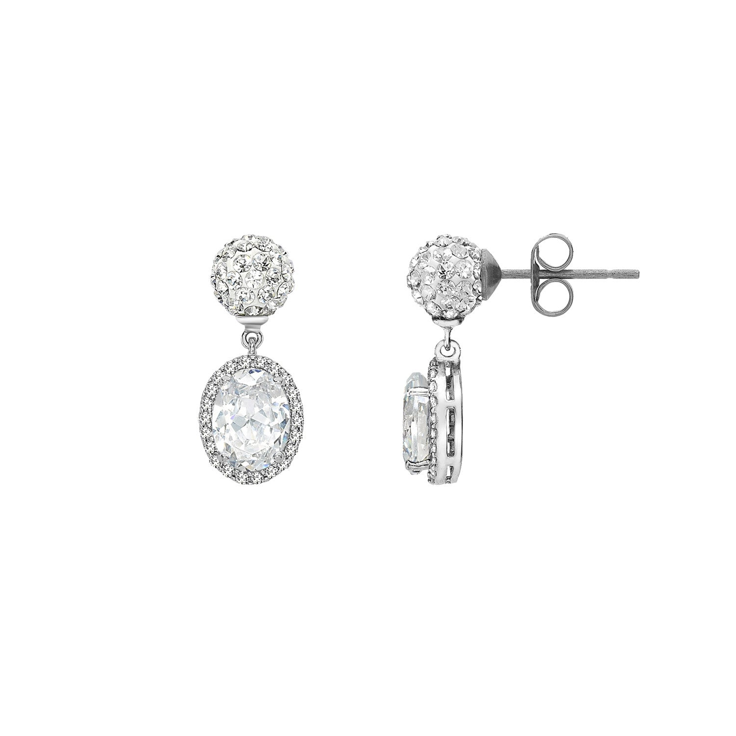 Tresor Paris Earrings Souverain Blanc