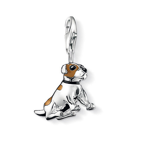 Thomas Sabo Charm  Sterling Silver Club Jack Russell Terrier