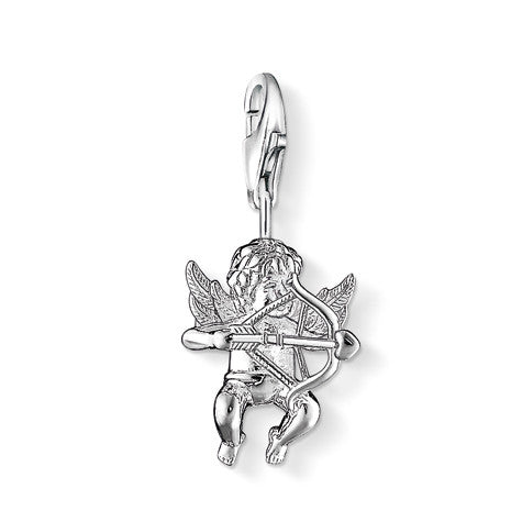 Thomas Sabo Charm  Sterling Silver Club Cupid D