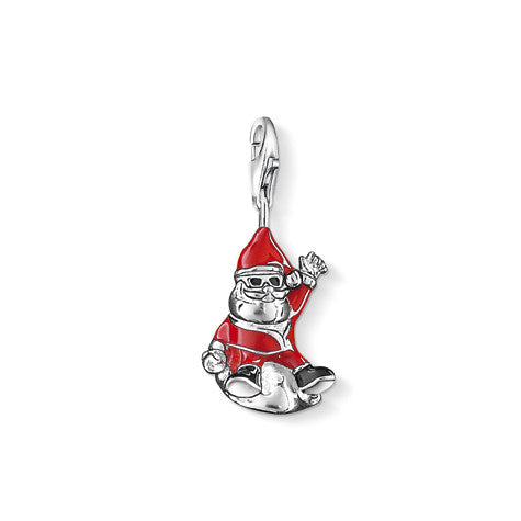 Thomas Sabo Charm  Sterling Silver Club Santa Claus D