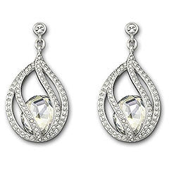 Swarovski Earrings Megan Pierced