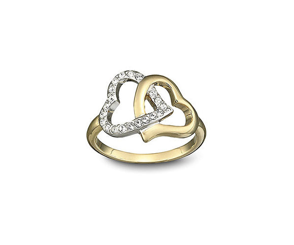 Swarvoski Ring Match Heart