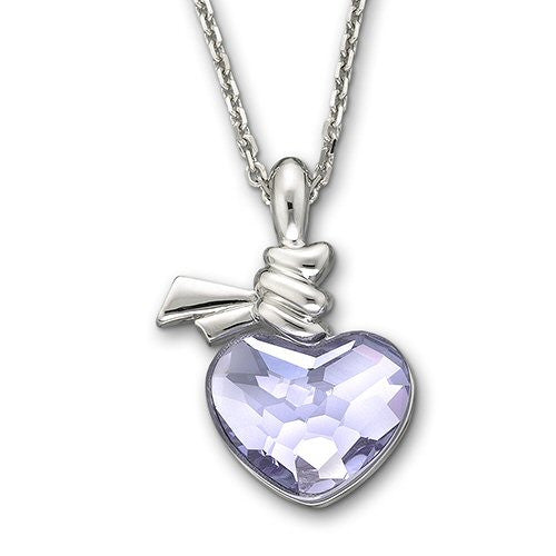 Swarovski Necklace Violet Ties Of Love