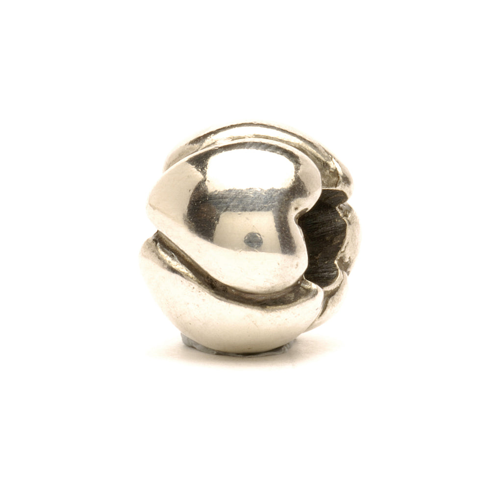 Trollbeads Bead Silver Big Hearts