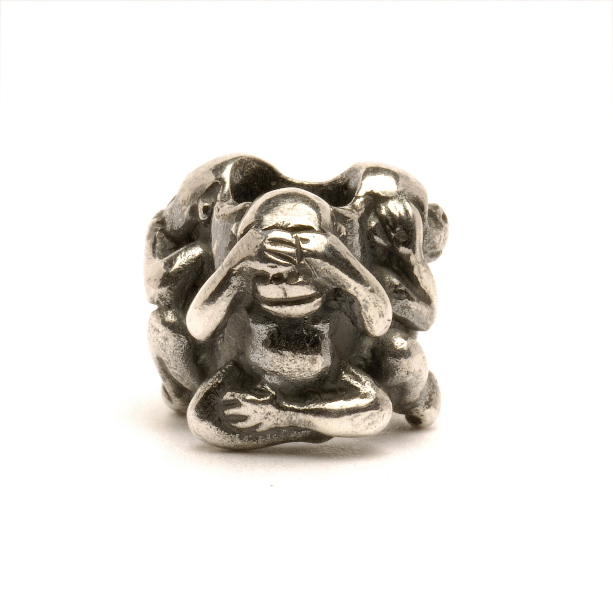 Trollbeads Bead Three Monkeys
