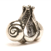 Trollbeads Bead Silver 2 Snails In Love