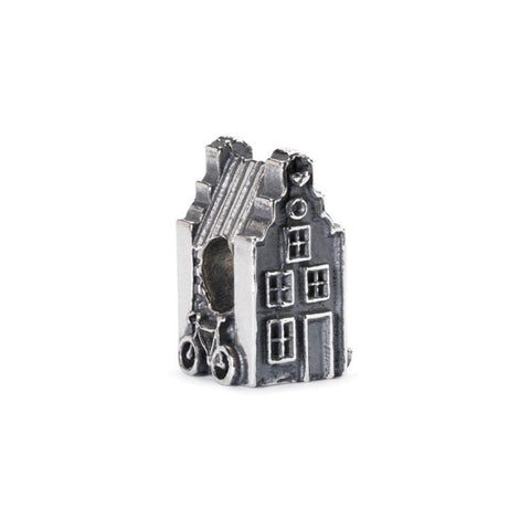 Trollbeads Bead Amsterdam Town House Silver