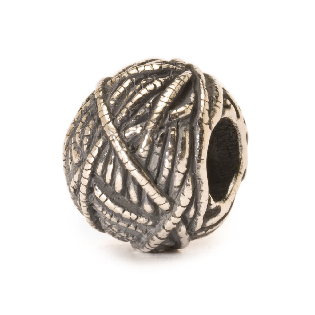 Trollbeads Bead Silver Ball Of Yarn