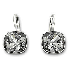 Swarovski Earrings Sheena Crystal Silvernight