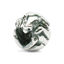 Trollbeads Bead Silver Chinese Ox