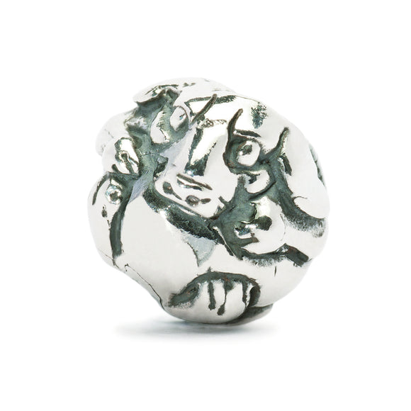 Trollbeads Bead Silver Chinese Dog