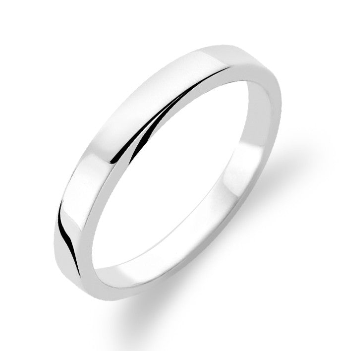 Ti Sento Ring Silver Band