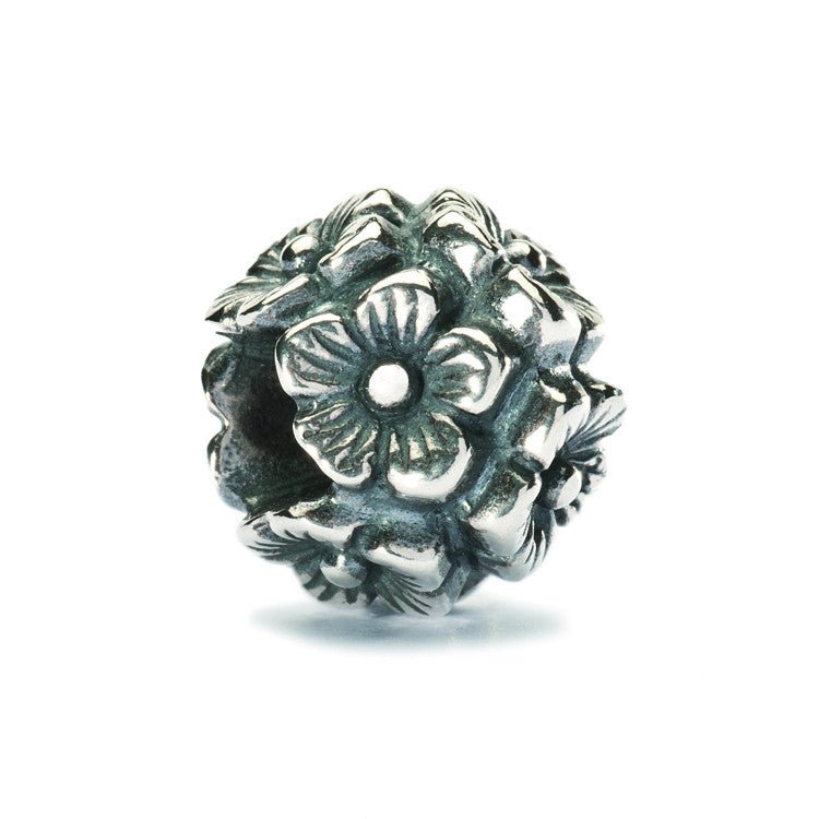 Trollbeads Bead Silver Elderflowers