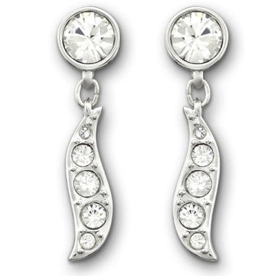 Swarovski Earrings Pave Sparkle