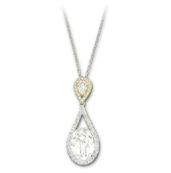 Swarovski Necklace Swinging