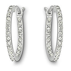 Swarovski Earrings Summerset Hoop