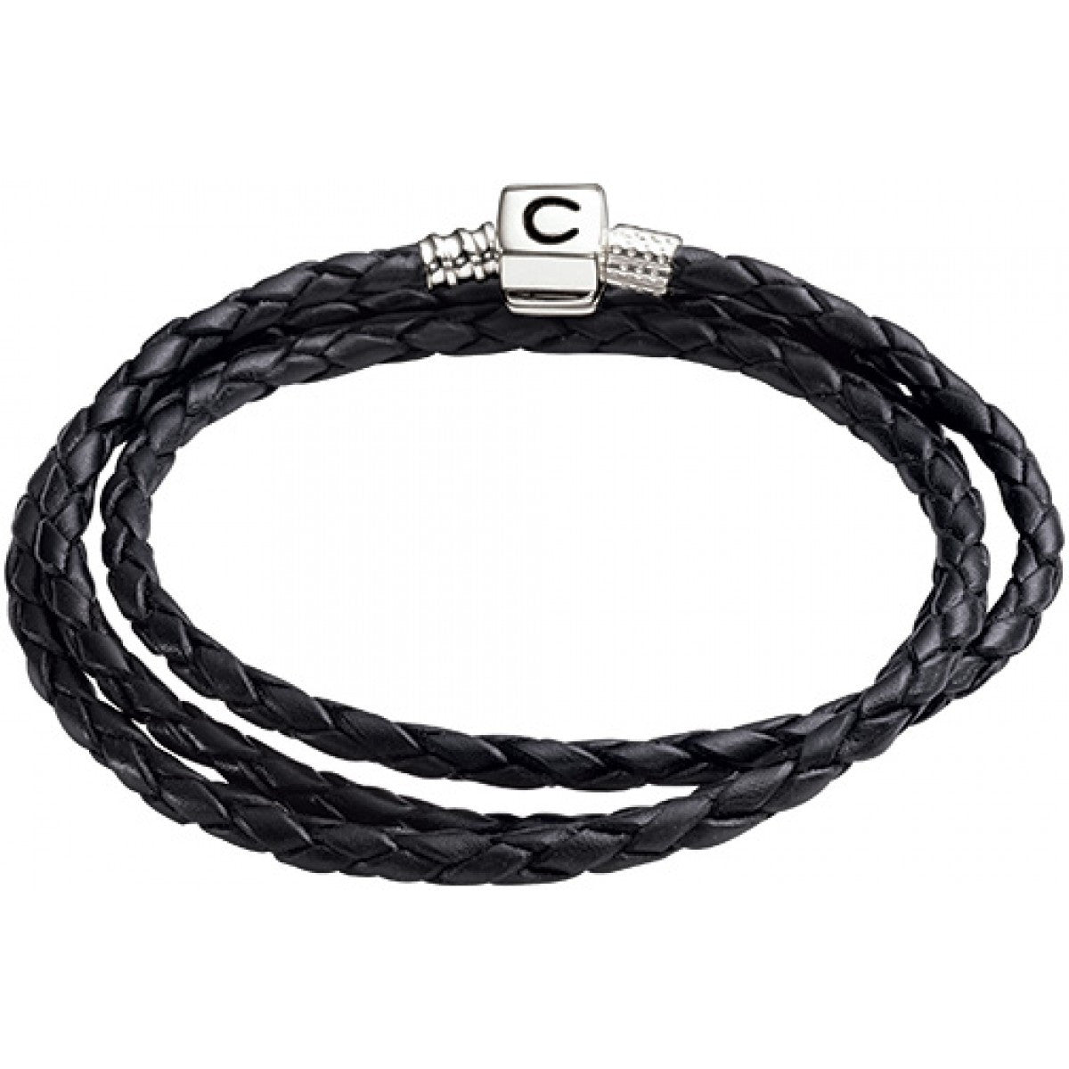 Chamilia Bracelet Ebony Braided Medium S