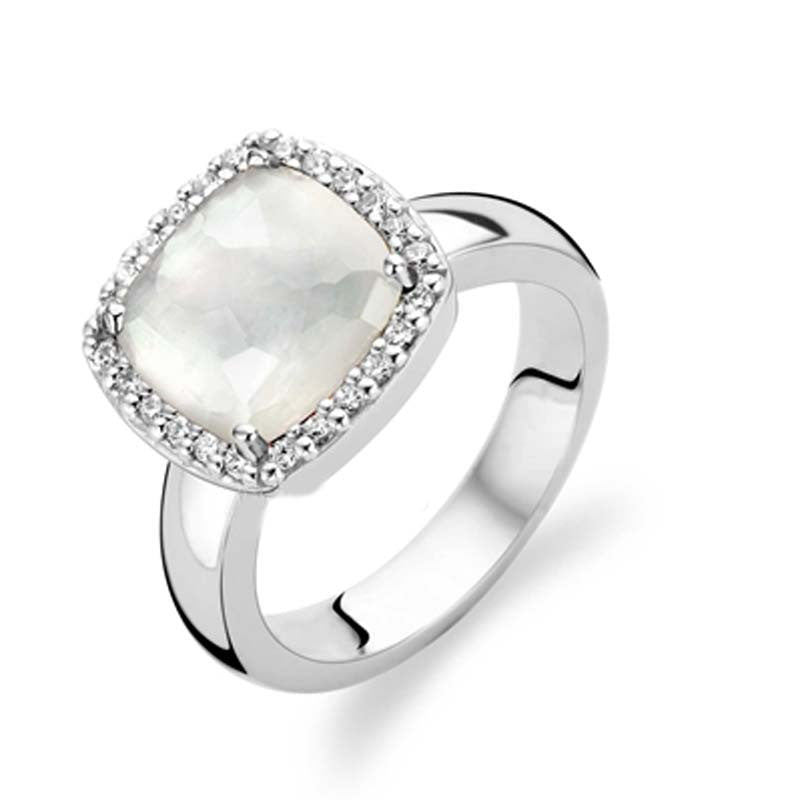 Ti Sento Ring Mother of Pearl