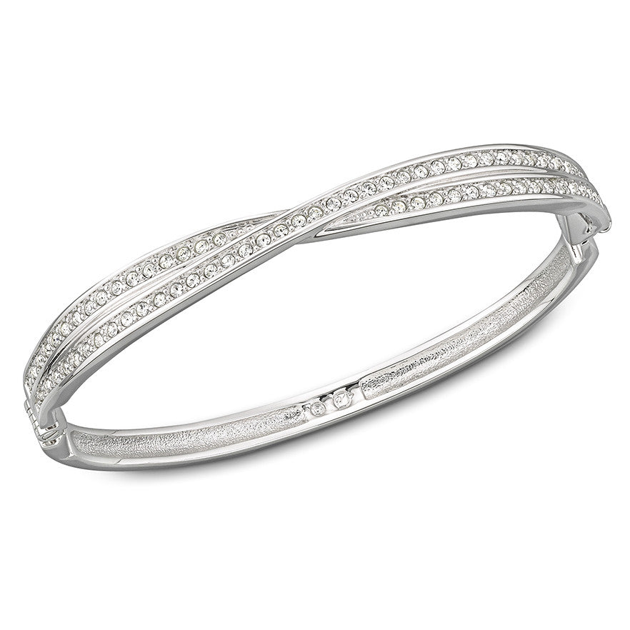 Swarovski Bangle Pave Twist Edith