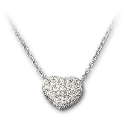 Swarovski Necklace Pave Heart