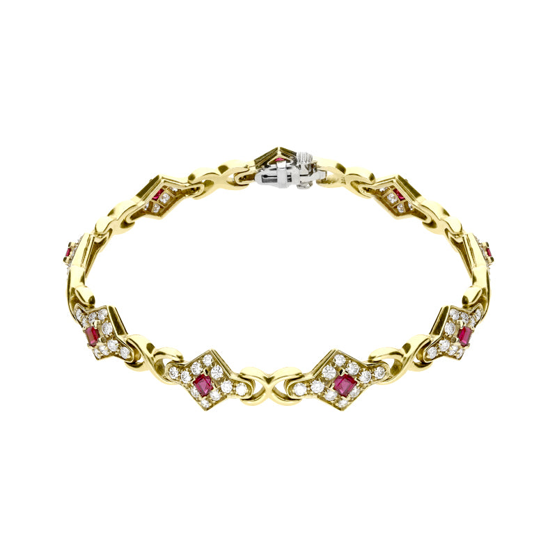 george products ron bracelet ruby jewelers