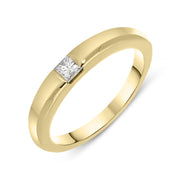 18ct Yellow Gold Diamond Ring 10H013492