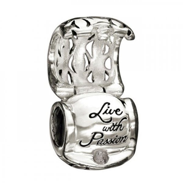 Chamilia Charm Live With Passion Bead D