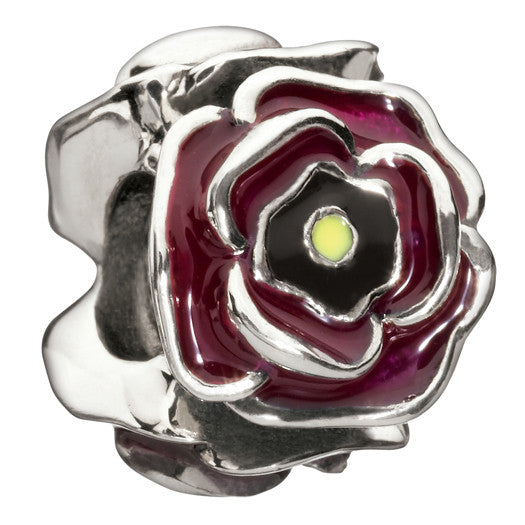 Chamilia Charm Simply Rosey Burgundy