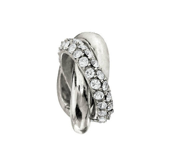 Chamilia Charm Ring Crystal