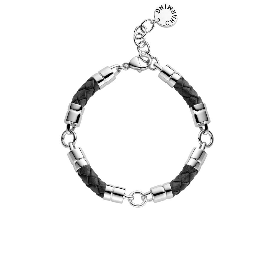 Ti Sento Bracelet Silver And Leather